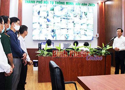 Đồng Xoài khai trương Trung tâm giám sát, điều hành Thành Phố thông minh