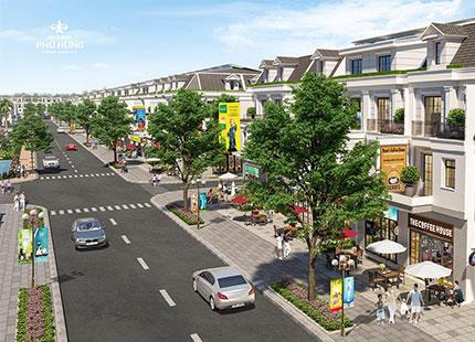 Shophouse Cát Tường Phú Hưng – mô hình độc đáo tại vùng kinh tế trọng điểm phía Nam