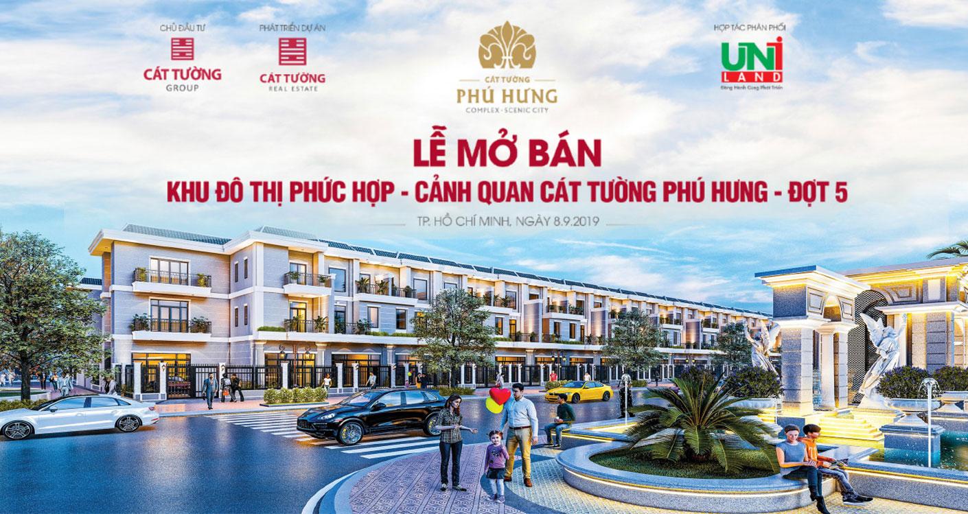 Lễ mở bán Khu Đô Thị Cát Tường Phú Hưng - Đợt 5