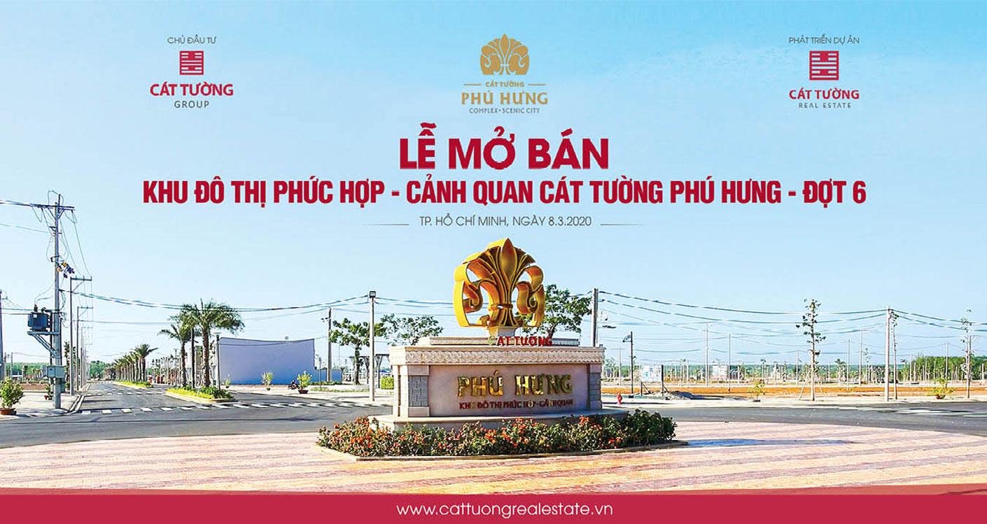 Lễ mở bán Khu Đô Thị Cát Tường Phú Hưng - Đợt 6