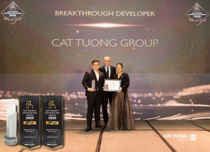Cát Tường Group vươn tầm Quốc tế với loạt giải thưởng danh giá đầu ngành