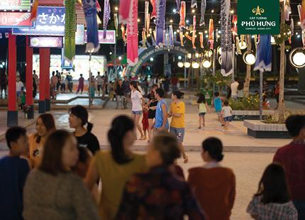 Tổ hợp tiện ích thương mại nâng tầm giá trị Cát Tường Phú Hưng